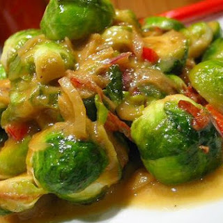 Brussels Sprout With Mustard And Honey.