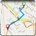 GPS Route Finder - Maps Location Navigator Guide icon