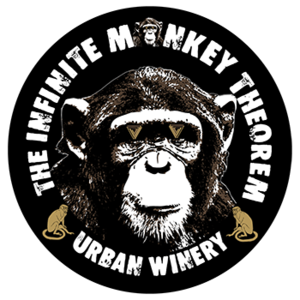 Logo for Infinite Monkey Theorem Red