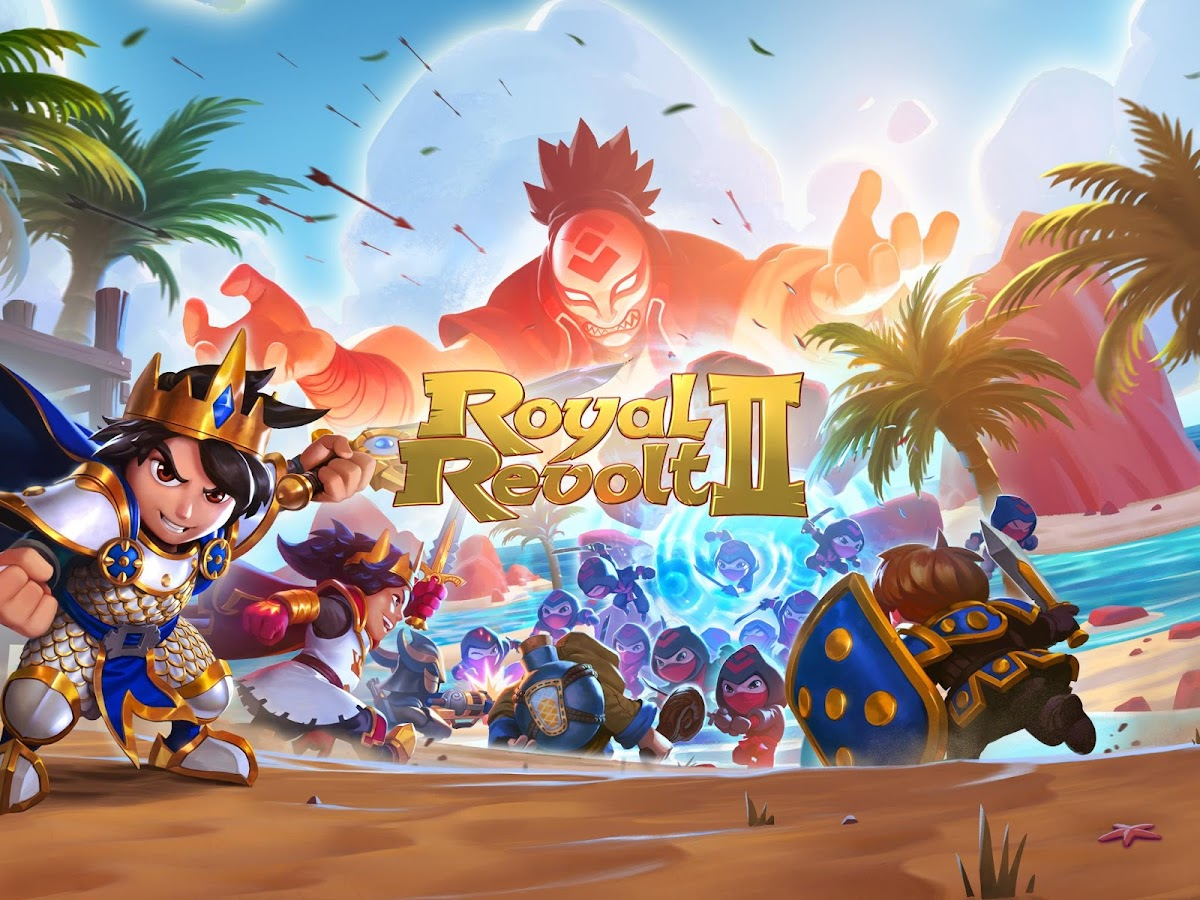 Screenshots of Royal Revolt 2 for Android