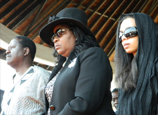 Image result for Raila family in fight for property with Fidel's widow