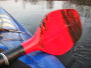 Photo: Tak dzisiaj się macha po dnie Brynicy :(