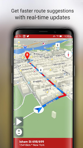 Free-GPS, Maps, Navigation, Directions and Traffic 1.9 screenshots 7