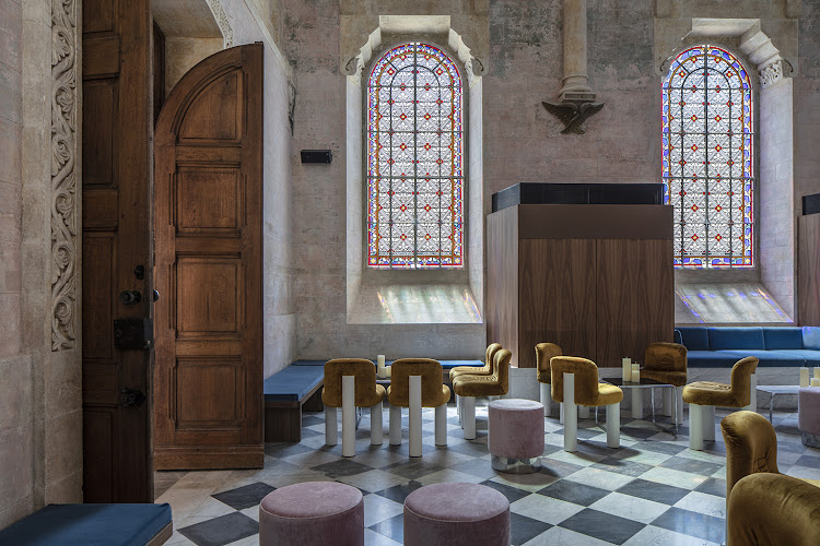 The Jaffa Hotel Chapel.