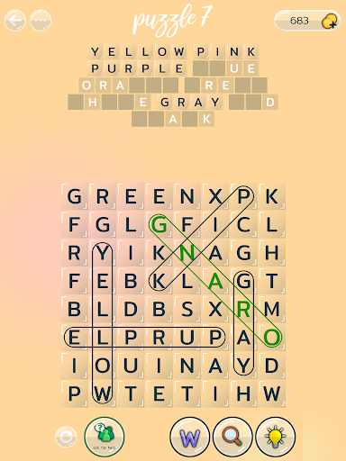 Word Search Puzzles - Free and Fun Brain Training android2mod screenshots 12
