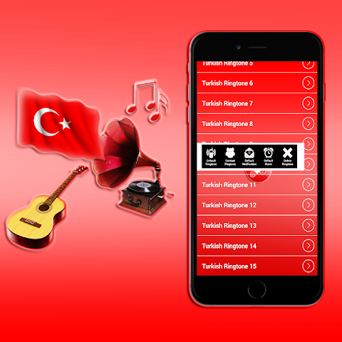 android Turkish Ringtones 2016 Screenshot 4