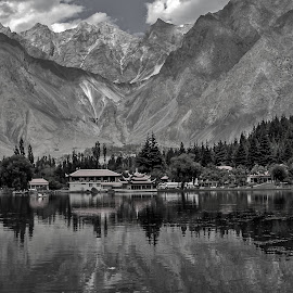by Mohsin Raza - Black & White Landscapes