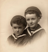 Photo: 1945 with younger brother Mike