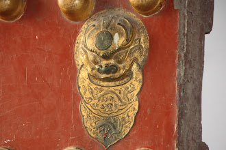 Photo: Day 190 -  Brass Fitting on  Entrance Gate to Forbidden City