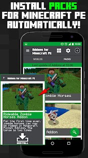 Addons for Minecraft PE- screenshot thumbnail
