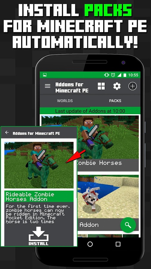 Addons for Minecraft PE- screenshot