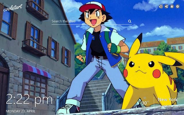 Pikachu HD Wallpapers Pokemon New Tab Theme
