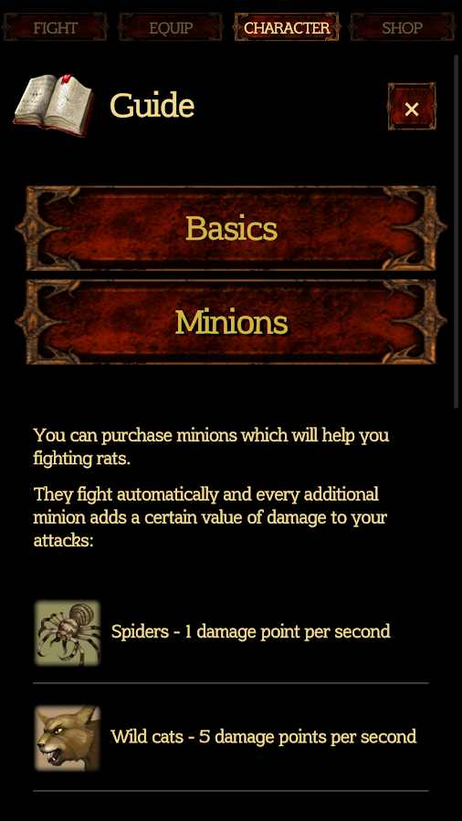 Rat Clicker 2 - Idle RPG- screenshot