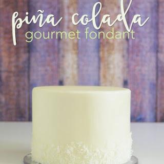 Pina Colada Gourmet Fondant