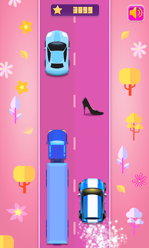 Girls Racing - Fashion Car Race Game For Girls  screenshots 5