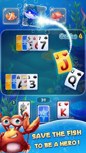 Solitaire TriPeaks - Fish Rescue 1.6.150.1731 screenshots 3