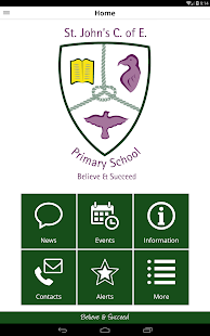 St John's CofE Primary School- screenshot thumbnail