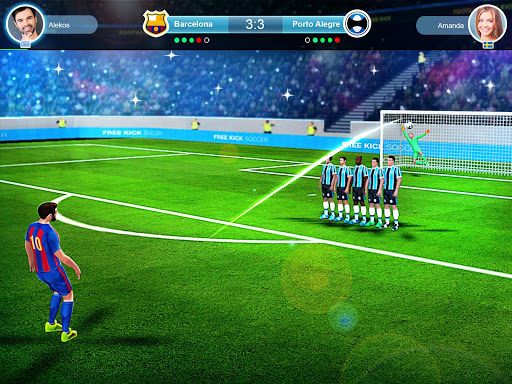 FreeKick PvP Football 1.2.1 gameplay | by HackJr.Pw 8