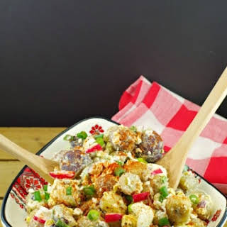 Perogy/Pierogi Potato Salad.