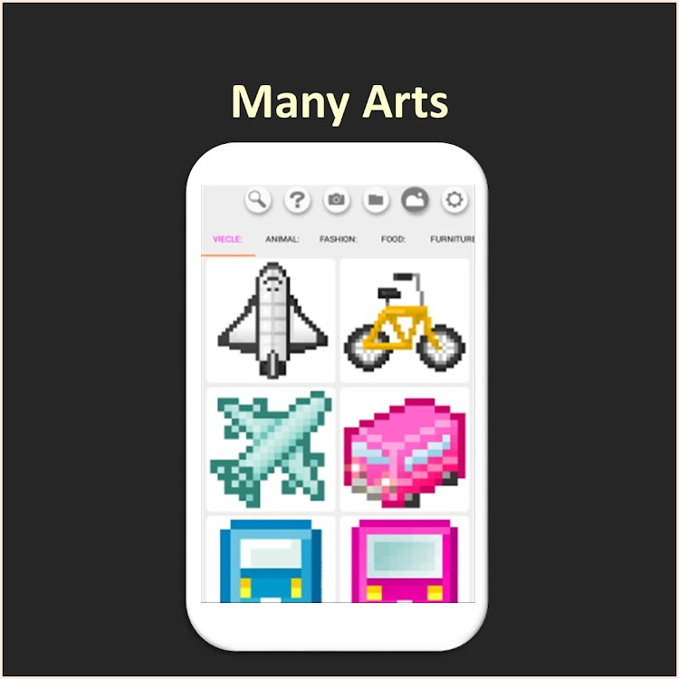 Color By Number Beginner Or Kids Pixel Art Android Apps Appagg
