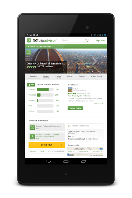#22. TripAdvisor Hotels Restaurants (Android)