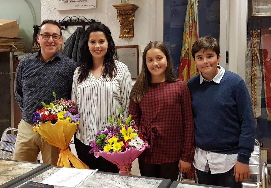 Nuevos representantes en la Falla Antonio Molle - Gregorio Gea.