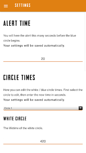 Circle Alerts for PUBG 1.1.0 screenshots 4