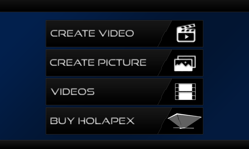 Holapex Hologram Video Maker- screenshot