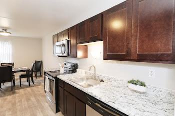 Go to Two Bedroom Garden Upgraded Floorplan page.