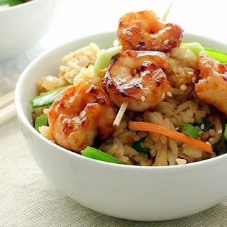 Easy 20 Minute Shrimp Fried Rice.