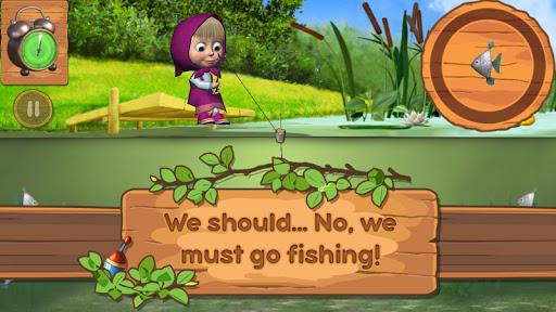Masha and the Bear: Kids Fishing 1.1.7 7