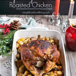 Maple Dijon Roasted Chicken