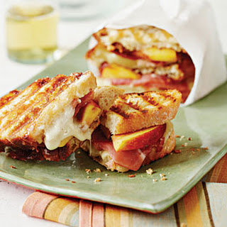 Country Ham-and-Peach Panini