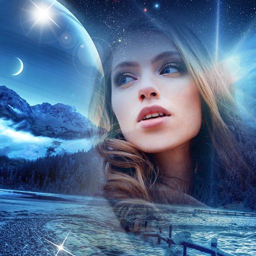 Baixar Noite Molduras para Fotos 🌃 Colagens de Fotos para Android