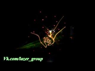 Лазерное анимационное шоу Paradiz в Уфе
