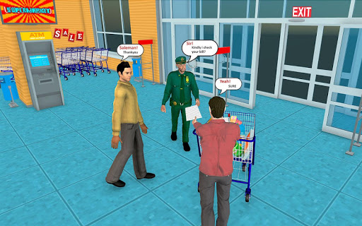 Supermarket Grocery Shopping Mall Family Game 1.5 screenshots 16