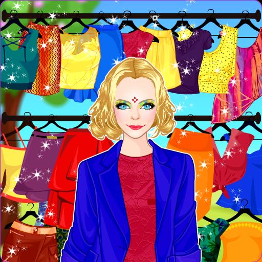 Princess Spring Dress up and Makeup Salon (game)