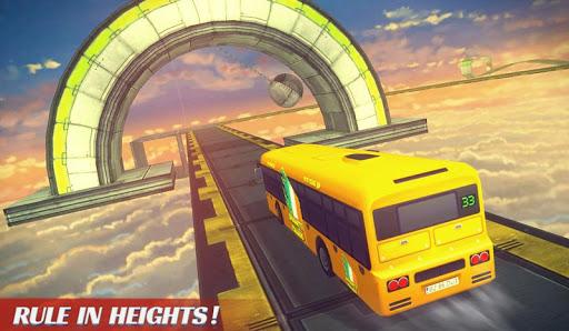 Télécharger Impossible Bus Sky King Simulator 2018 APK MOD 2