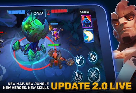 Planet of Heroes – MOBA evolved to Mobile Action- screenshot thumbnail