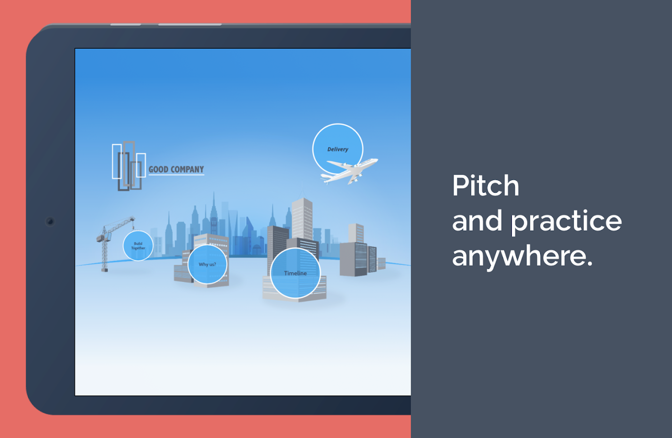 Prezi Viewer- screenshot