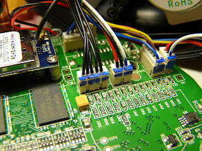 Photo: NCH-536MW RS232 J701 connector pinouts RX TX GND PCB mainboard