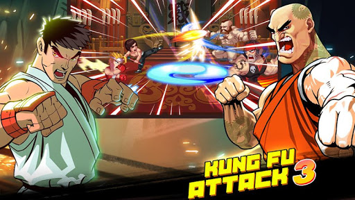 Kung Fu Attack 3 - Fantasy Fighting King apkmind screenshots 1