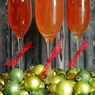 Sparkling Pomegranate Apple Cider.