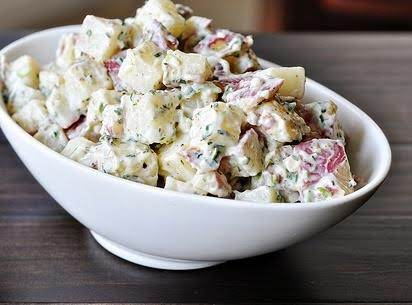 Awesome Cookout Bacon Ranch Potato Salad Recipe