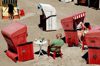 Foto: Deutschland, Fischland-Darß / Ahrenshoop, 2008, Strandidylle (Germany, Fischland-Darß / Ahrenshoop, 2008, idyllic beach setting) © Eckhard Supp