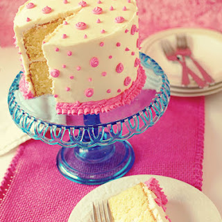 French Vanilla Cake.