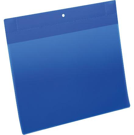Plastficka Plus A4L magnet blå