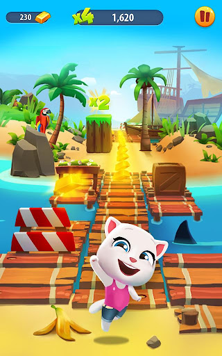 Talking Tom Gold Run  screenshots 9