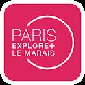 Paris Explore+ Le Marais icon