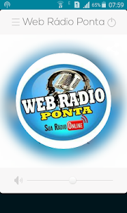 Web Rádio Ponta - náhled